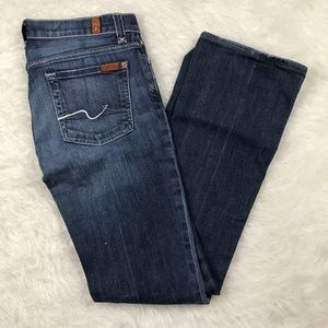 7 for all mankind jagger jeans sz 27